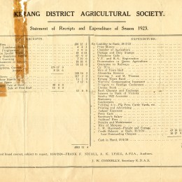 1923 Annual Report